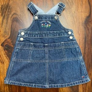 Tommy Hilfiger Baby Overall Dress, sz 6-12M